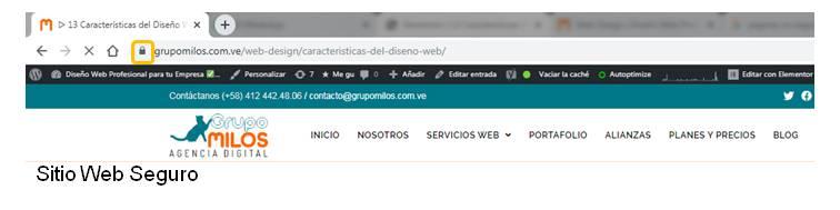 Sitio Web Seguro y Confiable