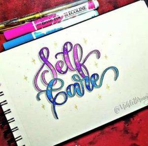 Arte de dibujar letras a mano